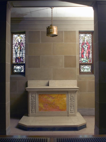 a-10 light Chapel of Confessor Bishops