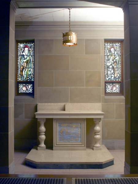 a-8 light Chapel of St. John the Baptist