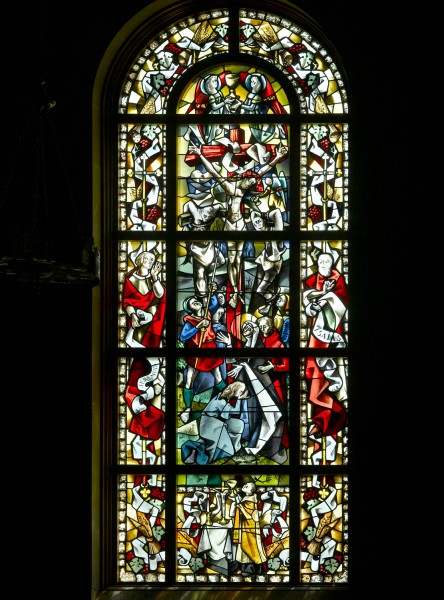 uwf-10 The Crucifixion Window