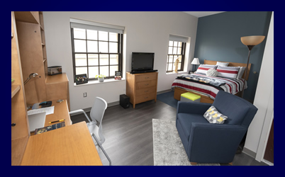 renovated residence room